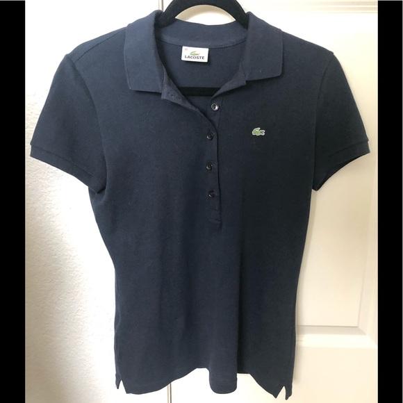 f321f575b5 Lacoste polo style shirt Navy Sz 40